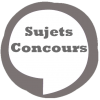 Sujets Concours
